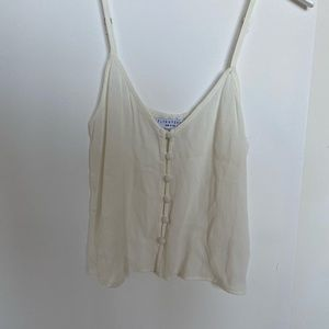 Flynn Skye Button Up Tank Top